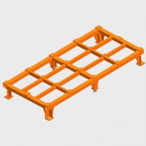 框架结构型支撑座